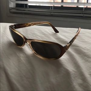 Chanel 5051 Matrasse Sunglasses Brown Orange Ombré